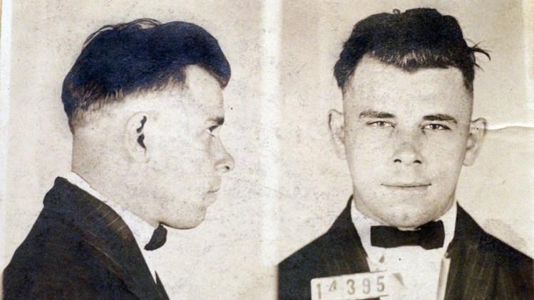 John Dillinger en el reformatorio de Indiana. The Indianapolis Star / AP