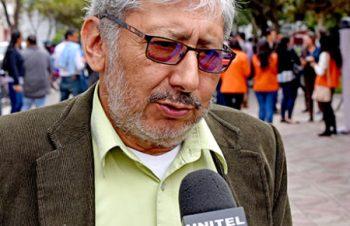 El presidente del Colegio Médico de Tarija, Jaime Márquez