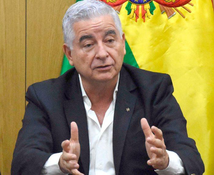Ministro de Desarrollo Productivo, Wilfredo Rojo.