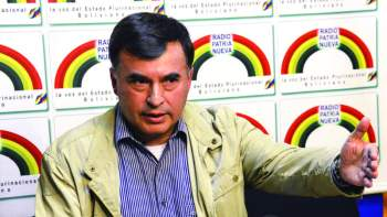 El ex ministro Juan Ramón Quintana