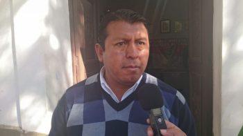 Edwin Rosas, presidente FEDJUVE Tarija