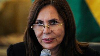 Karen Longaric, Canciller de Bolivia