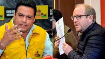 Luis Revilla y Adrian Oliva