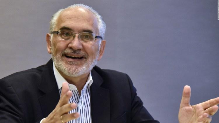 Carlos Mesa, candidato de Comunidad Ciudadana
