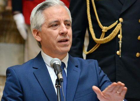El exvicepresidente, Álvaro García Linera