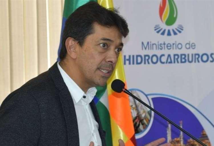 Víctor Hugo Zamora, Ministerio de Hidrocarburos. Foto archivo.
