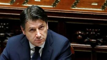 El primer ministro italiano Giuseppe Conte Remo Casilli : Reuters