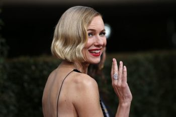 Actress Naomi Watts at the 77th annual Golden Globe Awards on Sunday, Jan. 5, 2020, in Beverly Hills, Calif.