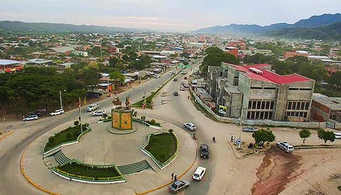 Vista aérea de la ciudad de Yacuiba