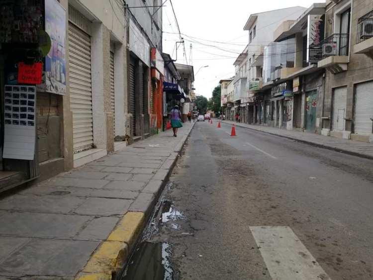 La ciudad de Tarija en cuarentena rígida. Foto archivo