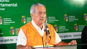 El secretario departamental de Salud, Óscar Urenda,